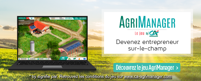 AgriManager, le jeu by CA