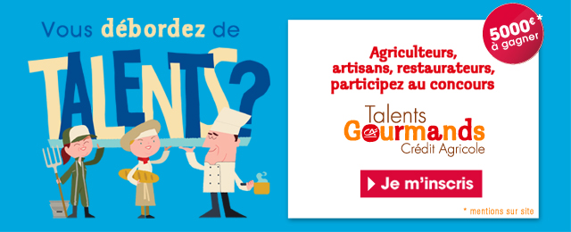 Concours Talents Gourmands 2014