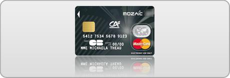 Crdit agricole sud rhne alpes carte de paiement mozaic m6 - Plafond retrait mastercard credit agricole ...